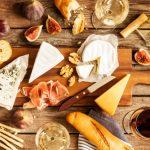 Mesa de queijos e vinhos para se inspirar!