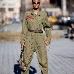 Macacão militar para se inspirar!