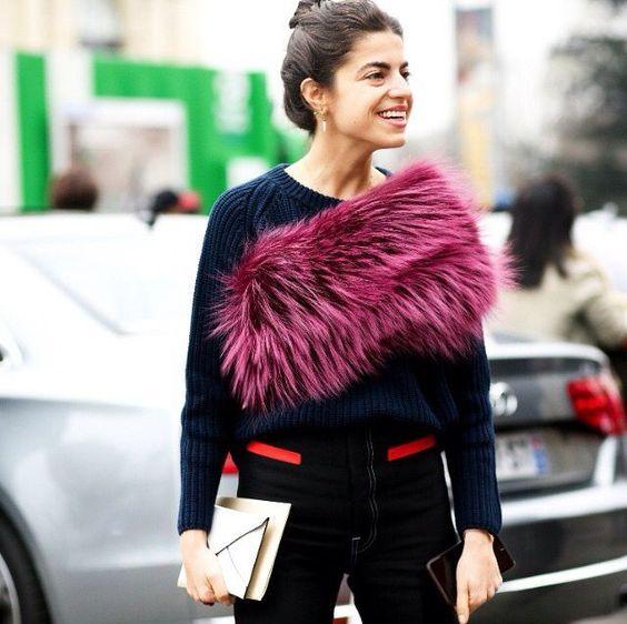 Como usar estola de pelo no dia a dia por Alessandra Faria