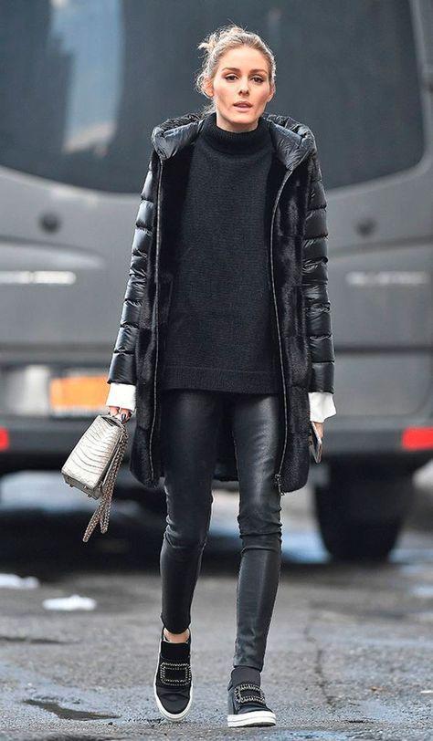 All black street style por alessandra faria