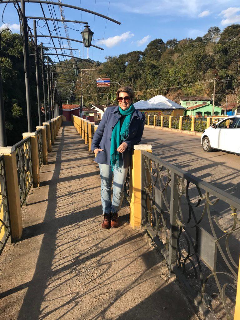 São Bento do Sapucaí, ponte na entrada da cidade por Alessandra Faria