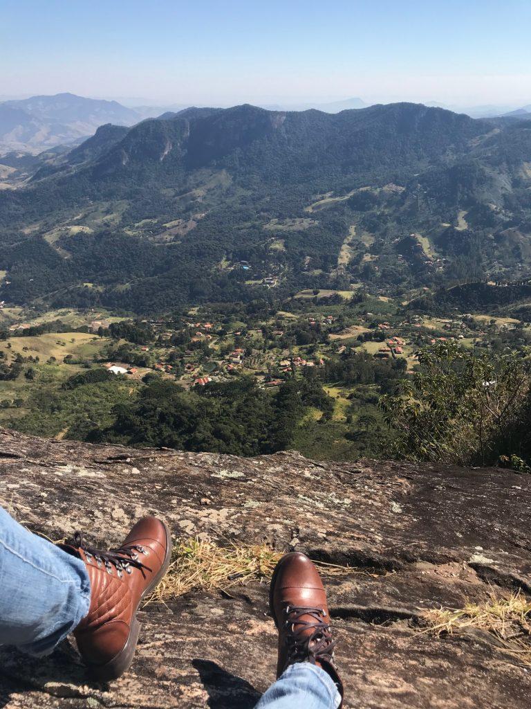 Topo da trilha do Bauzinho, São Bento do Sapucaí, por Alessandra Faria