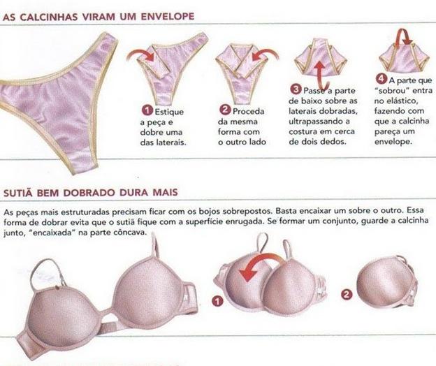 Levar lingeris na mala de viagem por Alessandra Faria