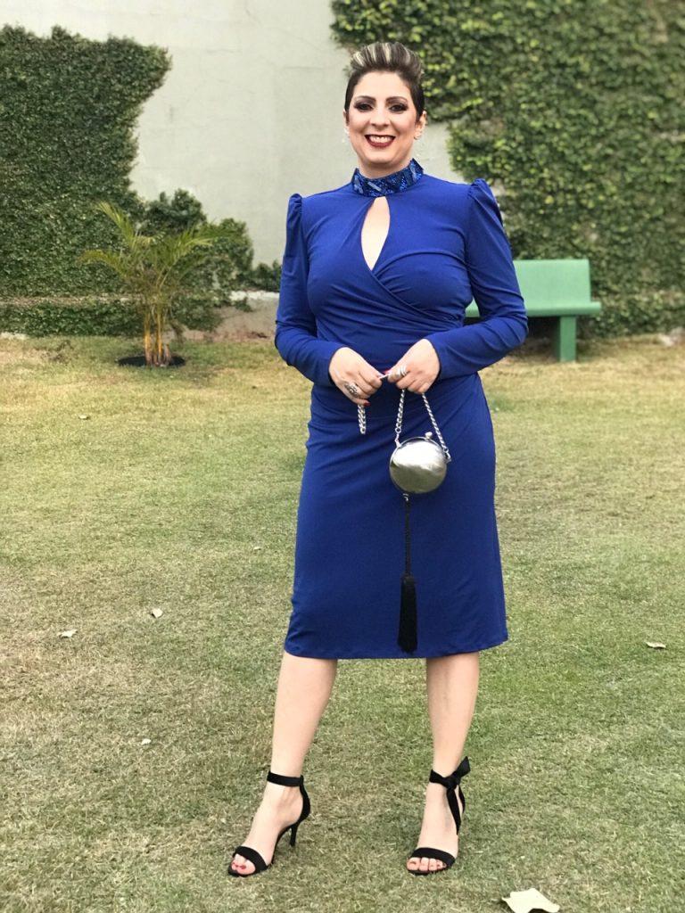 Look do dia para casamento à tarde, vestido midi por Alessandra Faria