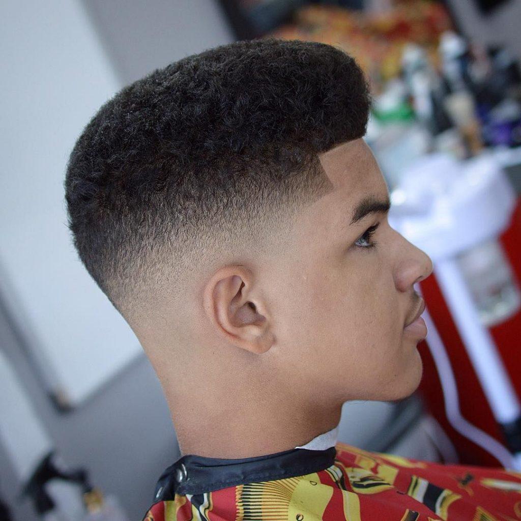 Corte de cabelo degradê masculino por Alessandra Faria