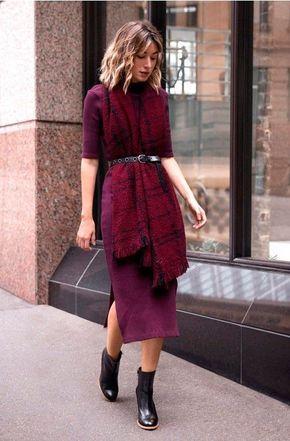 Maxi cachecol moda de rua alto inverno 19 por Alessandra Faria
