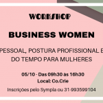 Workshop para mulheres: Business Women!