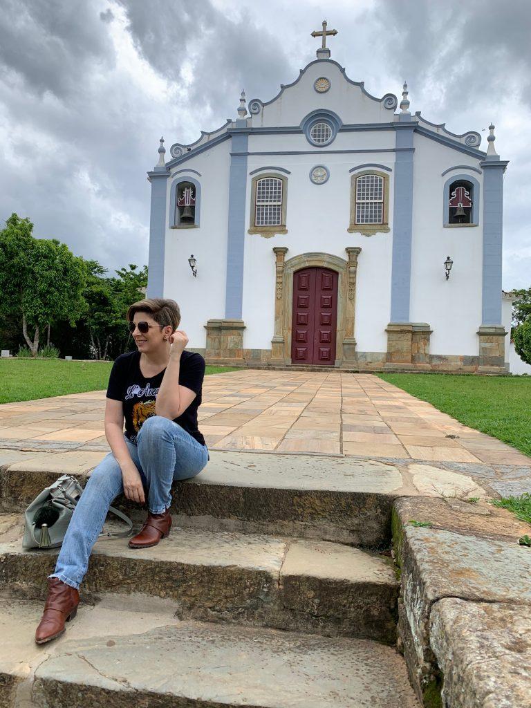 Igreja Santíssima Trindade em Tiradentes/MG por Alessandra Faria