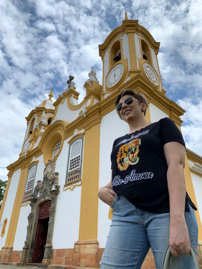 Igreja matriz de Santo Antônio, Tiradentes/MG por Alessandra Faria