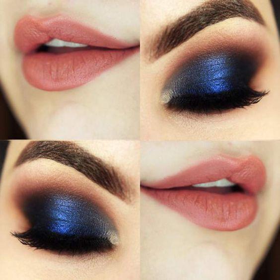 Sombra classic blue, cor do ano 2020, por Alessandra Faria