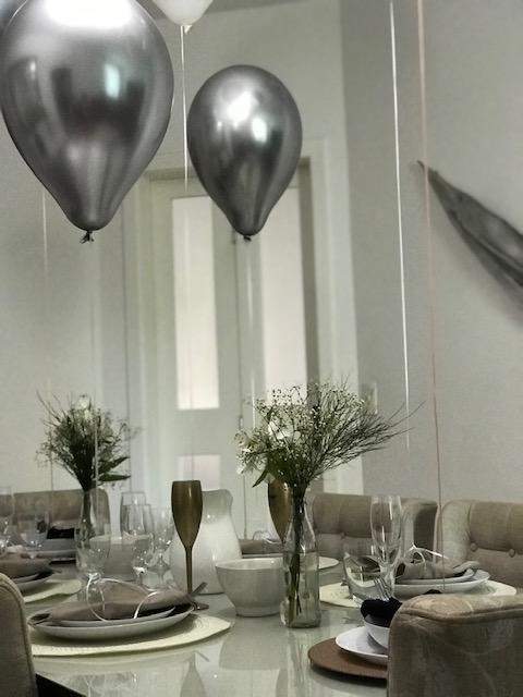Mesa de ano novo por Alessandra Faria