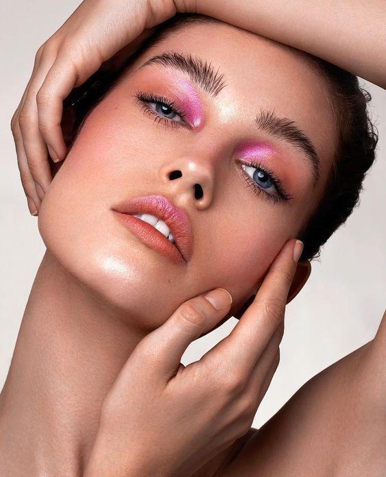 Maquiagem colorida para o natal e ano novo por Alessandra Faria