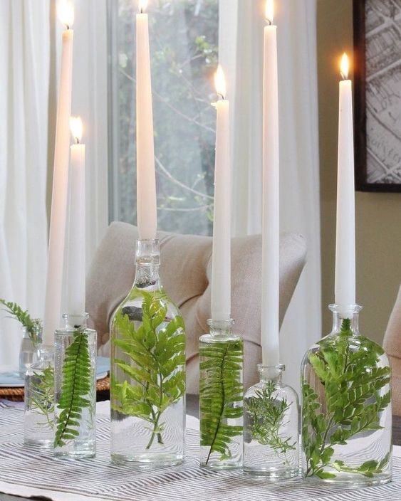 Decoração de mesa ano novo barata por Alessandra Faria