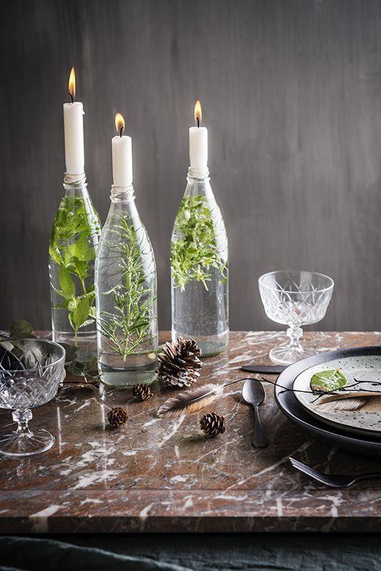 Decoração de mesa ano novo simples e barata por Alessandra Faria