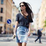 4 Modelos de Saia jeans do verão 2020!