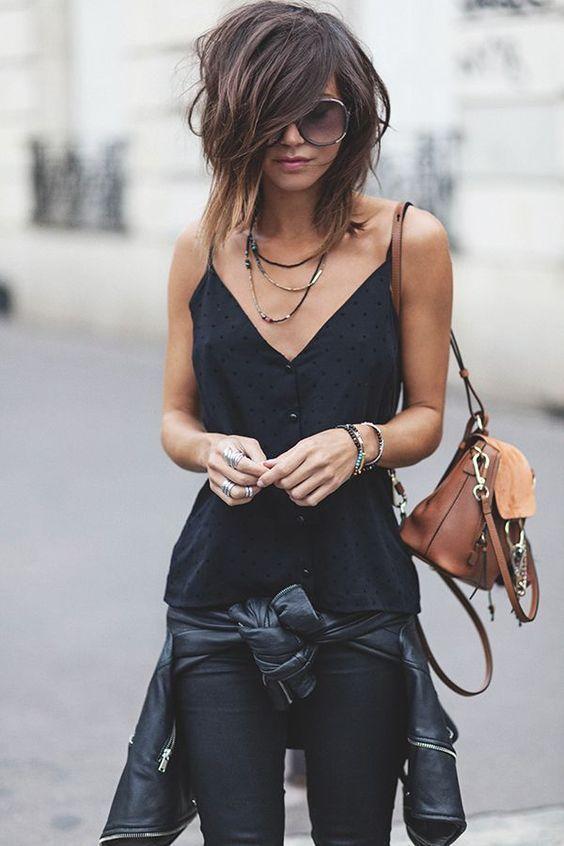 All black para o verão 2020 por Alessandra Faria