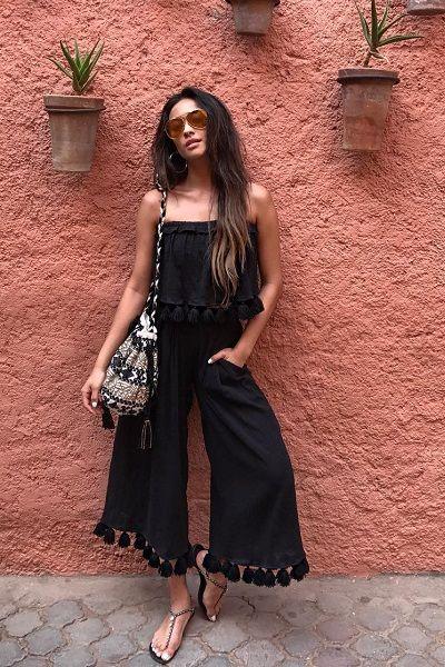 look preto  para o verão 2020 por Alessandra Faria