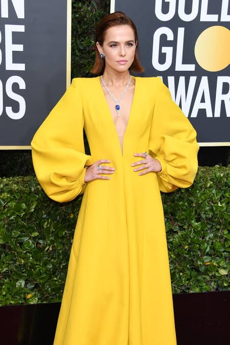 Golden Globes 2020 red carpet looks for Alessandra Faria
