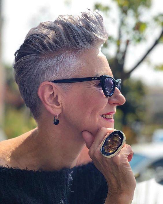 Pixie hair 2020 corte de cabelos curtos femininos por Alessandra Faria
