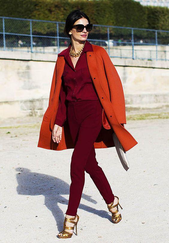 Combinação de cores análogas para você arrasar no inverno 2020 por Alessandra Faria