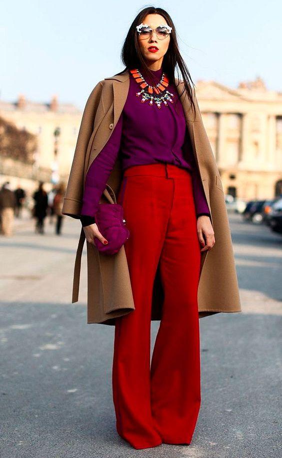 Combinações de cores análogas para você arrasar no inverno 2020 por Alessandra Faria