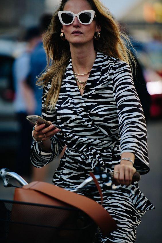Estampa de Zebra tendência para as próximas estações por Alessandra Faria
