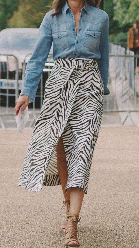 Zebra animal print tendência para as próximas estações por Alessandra Faria