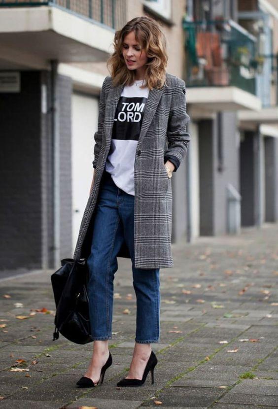 Casaco xadrez, um clássico da moda feminina que vale o investimento por Alessandra Faria