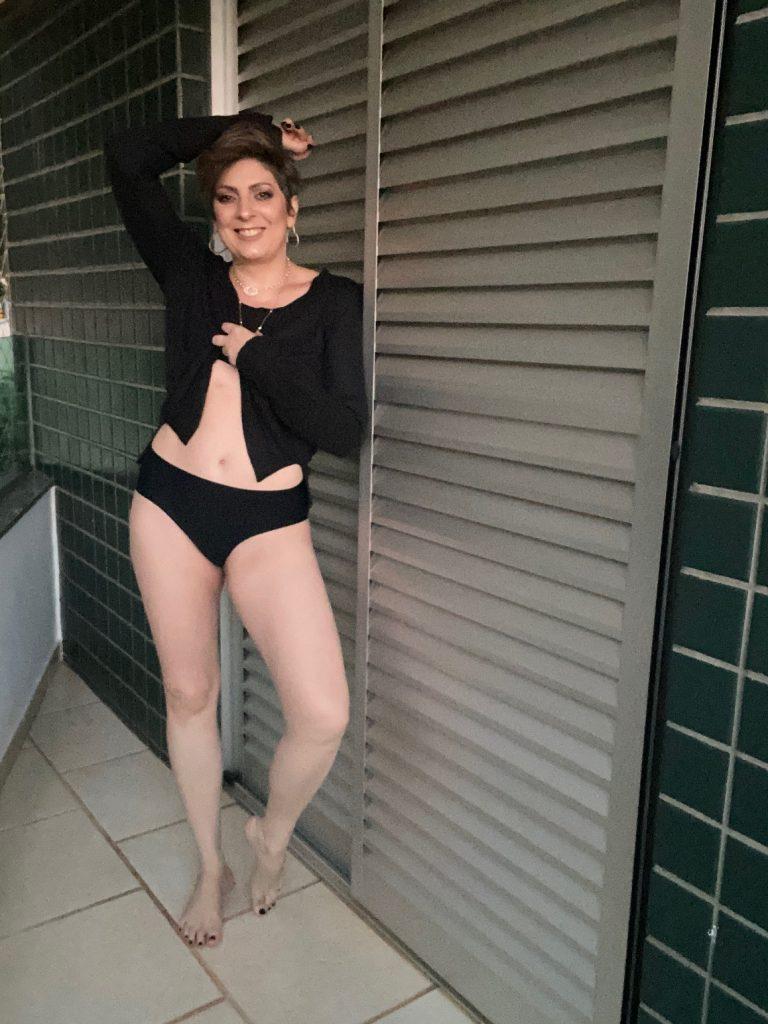 um ano após a histerectomia total por Alessandra Faria