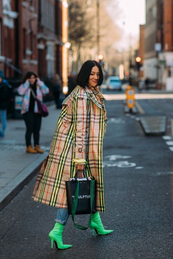 5 motivos para investir num casaco xadrez por Alessandra Faria