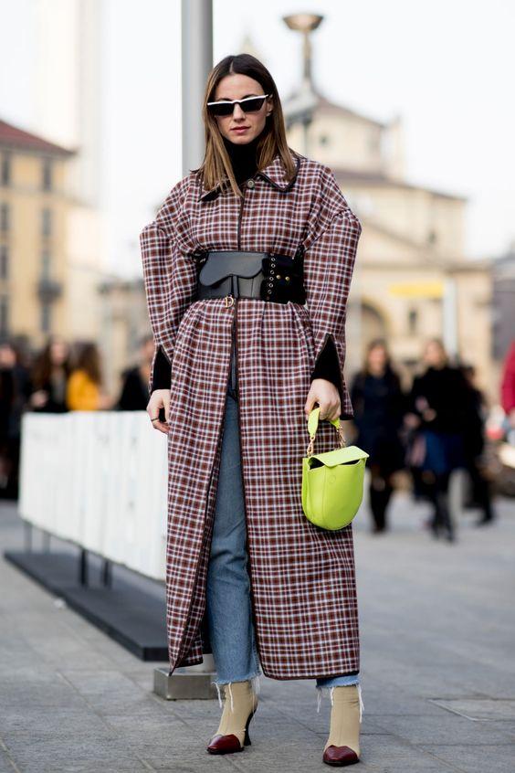 Por que investir num casaco xadrez por Alessandra Faria