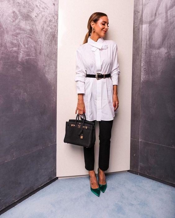 como usar vestido chemise  por Alessandra Faria