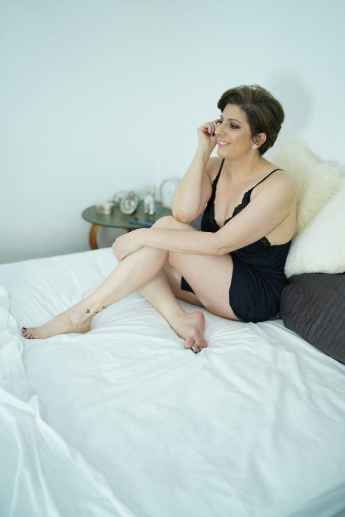 lingerie para ficar em casa, por Alessandra Faria