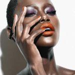Maquiagem colorida para pele negra!