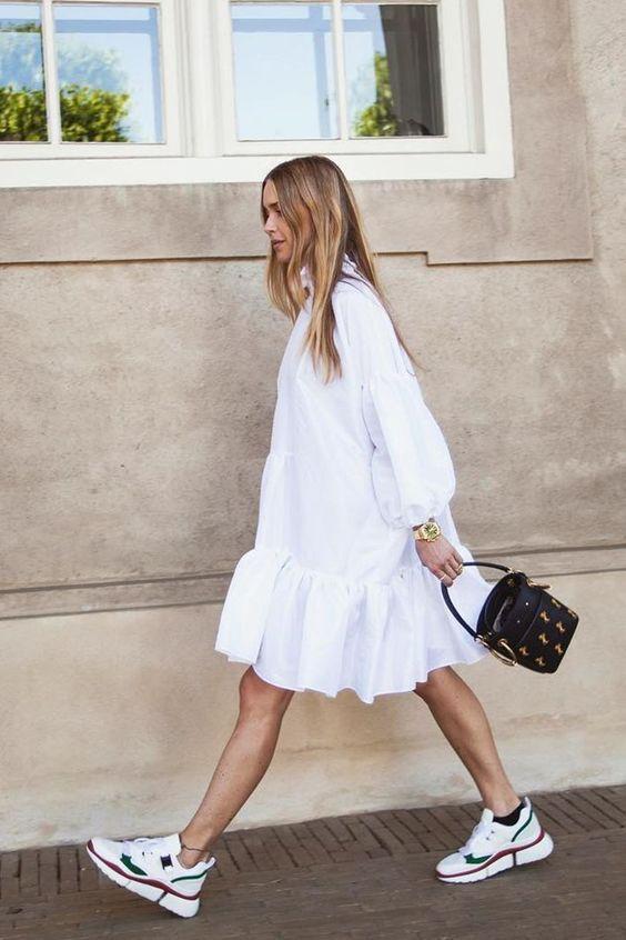 Vestidos soltos 80-90's voltam à moda como tendência e releitura, por Alessandra Faria