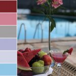 Paletas de cores naturais para o verão!