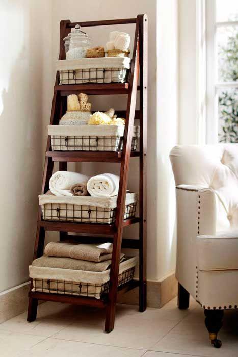 escadas decorativas para organizar a casa por Alessandra Faria