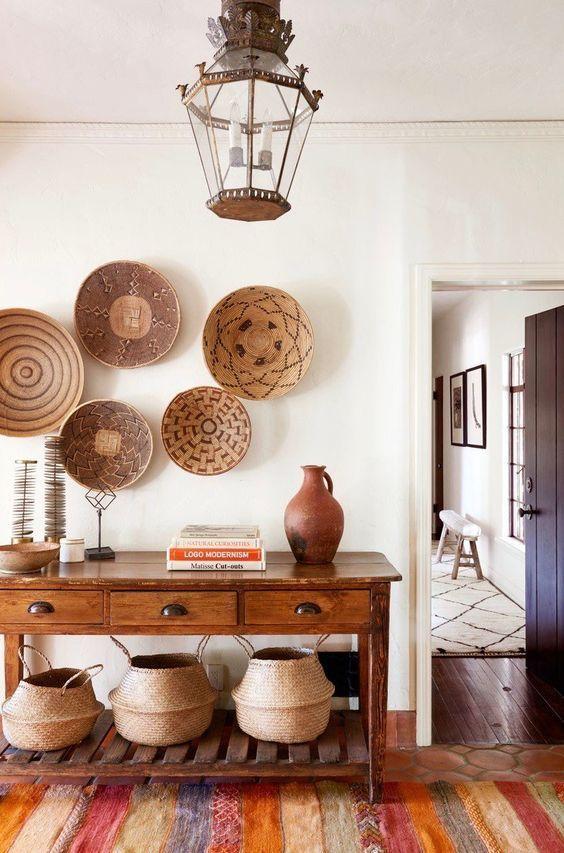 Como usar organizadores artesanais na decoração por Alessandra Faria