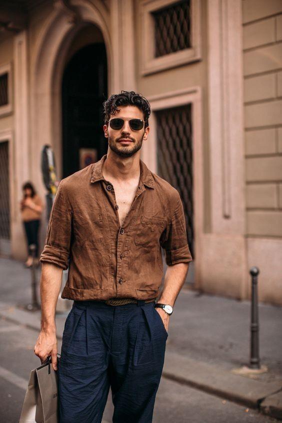 Dicas de look esporte fino para homens por Alessandra Faria