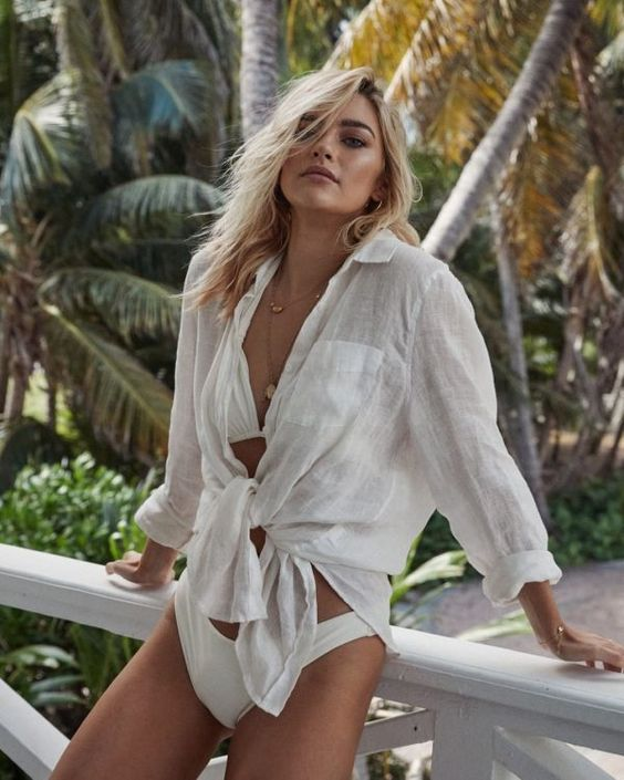 Como montar looks estilosos para praia por Alessandra Faria