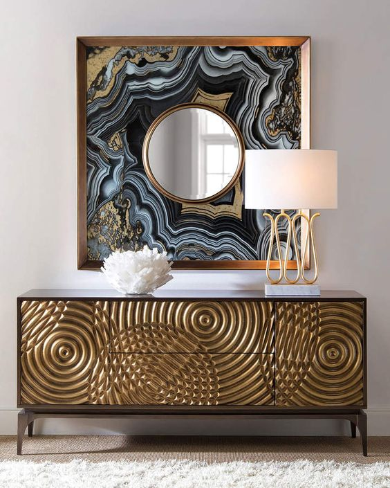Como usar dourado na decoração por Alessandra Faria
