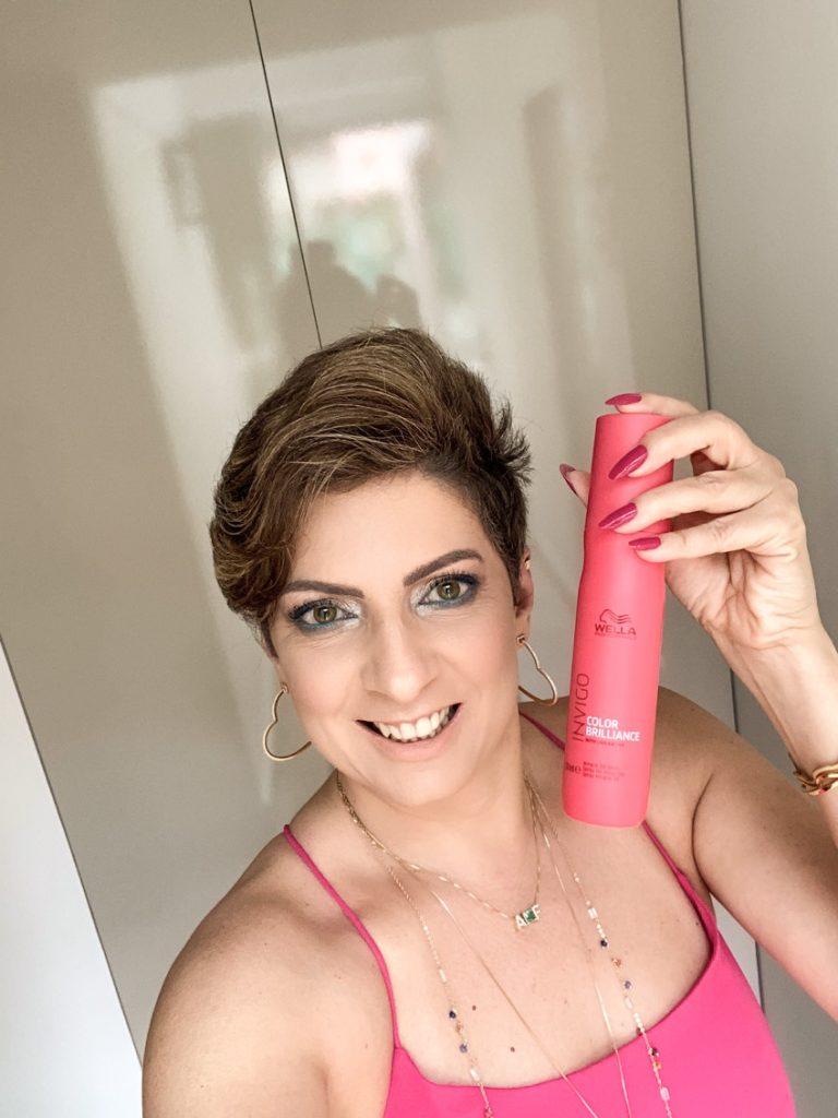 Resenha Leave in Invigo Wella junto com mybest Brasil, por Alessandra Faria