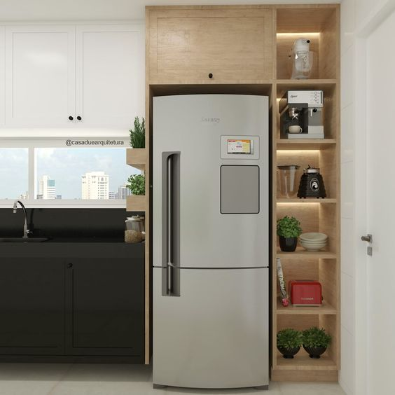 5 geladeiras lindas para sua casa por Alessandra Faria