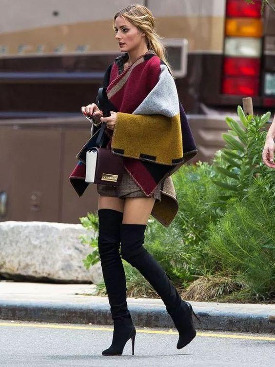 5 looks de inverno de Olivia Palermo para se inspirar por Alessandra Faria