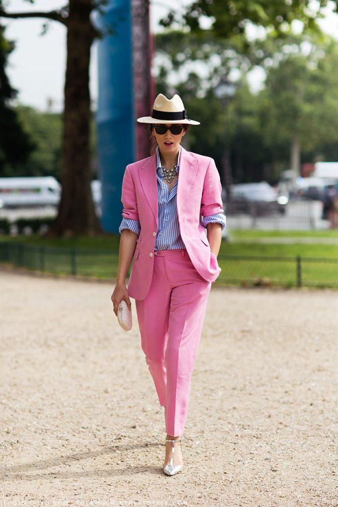 O terninho rosa é o novo preto, por Alessandra Faria