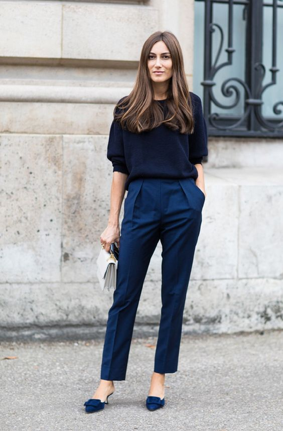 Estilo parisiense na semana de moda de Paris por Alessandra Faria